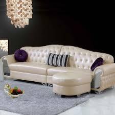 Corner Sofa In Living Room - china modern european style living room leather corner sofa