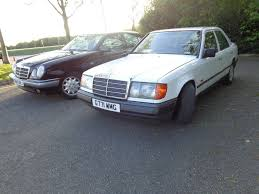 mercedes benz classic classic mercedes benz w124 e300 white prelift in leicester