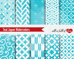 commercial wrapping paper blue hexagon recycled gift wrap geometric wrapping paper eco