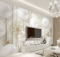 3d murals wallpaper for living room contemporary and contracted 3
