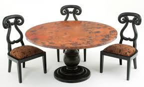 Copper Dining Room Tables Copper Dining Table 5 Urdezign Lugar