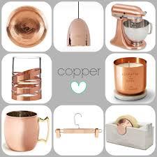 ingenious copper home decor copper tin can desk organizer via