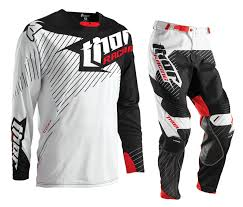thor motocross helmet thor core hux white black gear set at mxstore