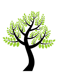 clipart a simple tree 6