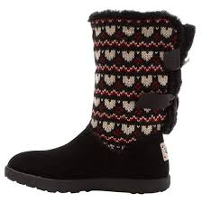 s ugg boots ugg kid s i knotty knotty fair isle boots sports