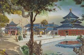 china pavilion world showcase epcot center walt disney world