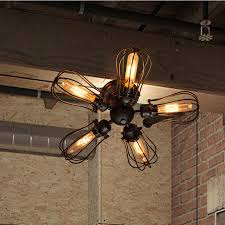 Wrought Iron Chandelier Uk Fancy 5 Light Wrought Iron Industrial Ceiling Lights