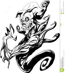 ghost tattoos death ghost body tattoo royalty free stock photo image 34855475