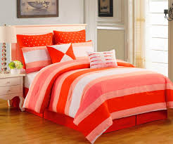 Bedroom Linens And Curtains Bed Linen Amazing Coral Orange Bedding Orange And Gray Bedding
