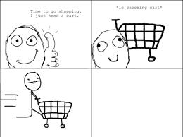 Funny Me Gusta Memes - fun with a shopping cart me gusta meme pinterest rage comics