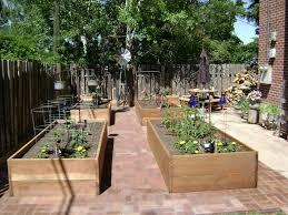concrete block raised garden bed design margarite gardens