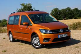 orange volkswagen van volkswagen caddy maxi life estate review 2015 parkers
