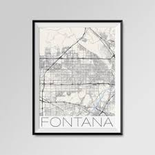 und cus map amarillo city map print modern city poster black and