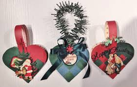 annes papercreations diy braided christmas heart basket tutorial
