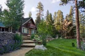 Mountain Landscaping Ideas Mountain Retreat Rustic Landscape Denver By Lifescape