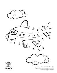coloring page winsome dot to coloring fancy airplane page dot to