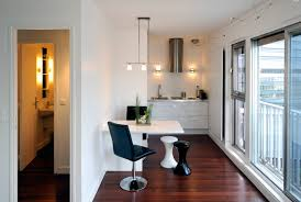 Kitchen Folding Tables by Maximizing Modern Minimalist Kitchen And Dining Room Spaces Using