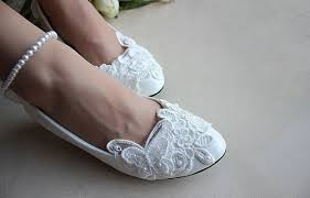 white lace wedding shoes white ballet flats shoes bridal shoes lace bridal flats wedding