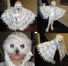 owl costume costume hedwig the snowy owl pinteres