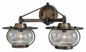 nautical bathroom light fixtures vaxcel w0019 jamestown nautical parisian bronze 11 tall halogen 2