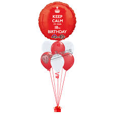 balloons for 18th birthday 18th birthday balloon go balloons