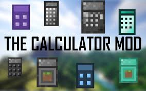 the calculator mod minecraft mods mapping and modding java