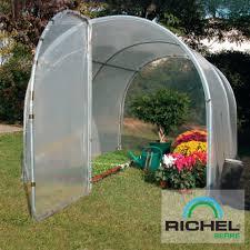 destockage serre de jardin serre tunnel maraîchère 9 m richel plantes et jardins