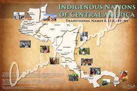 North And Central America Map by Central America Indigenous Nations Of Central America Map