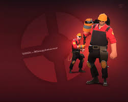 tf2 halloween background hd engineer objects giant bomb