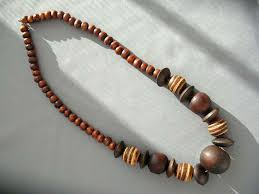 wooden necklaces sehacorlo wooden beaded necklaces jewelry ideas