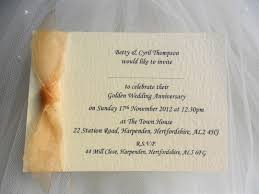 Wedding Invitations Cards Uk Single Sided Wedding Anniversary Invitations
