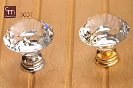 Decorative Hardware Store 10pcs Lot Decorative Hardware K9 Diamond Crystal Chrome Cabinet