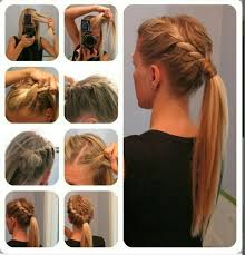 hairstyles with steps 15 cute and easy ponytail hairstyles tutorials popular haircuts