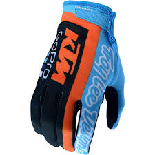 vintage motocross gloves new troy lee designs 2018 mx gear air navy ktm team tld motocross