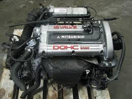 mitsubishi eclipse jdm jdm mitsubishi eclipse turbo 4g63t awd dohc engine