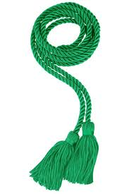 graduation cord green honor cord gradshop