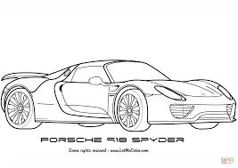 seinfeld porsche 918 porsche 918 spyder super coloring pojazdy pinterest
