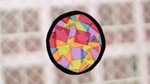 pattern making tissue paper how to make tissue paper suncatchers with pictures wikihow