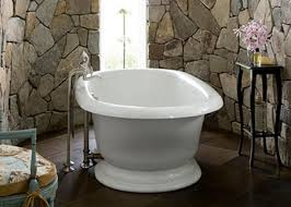 best design stone bathrooms features gray color patterned