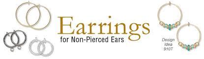 earrings for unpierced ears hoop earrings for unpierced ears delphine parmentier