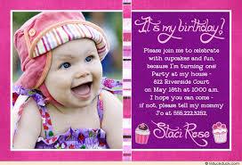 baby first birthday invitations u2013 unitedarmy info