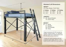 Cheap Loft Bed Frame Nuscca Page 97 Loft Bed Size Cheap Loft Bed Frame Loft