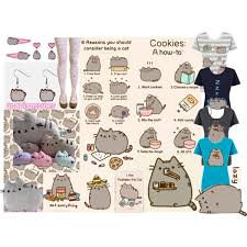 pusheen earrings pusheen the cat polyvore