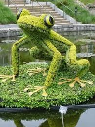 Largest Botanical Garden by Giant Living Sculptures At Atlanta Botanical Gardens My Modern