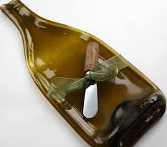wine bottle platter 36 best eco friendly recycled bottle plates images on