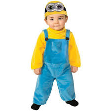 Halloween Costume 3t Minions Movie Bob Toddler Halloween Costume Size 3t 4t Walmart