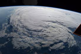 watching harvey from satellites and international space station
