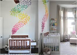 kinderzimmer deko m dchen wandgestaltung babyzimmer für deko madchen papier schmetterlinge