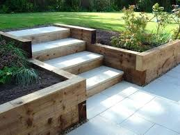 Railway Sleepers Garden Ideas Mulderranch