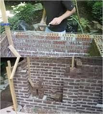 Fake Outdoor Fireplace - how to build an outdoor fireplace homesteading diy skills